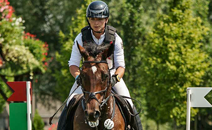 Julia Krajewski Nationenpreis Aachen 2018 German Eventing