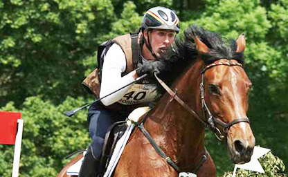 Jerome Robiné Wiesbaden U25 German Eventing