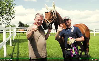 Carsten Sostmeier Michael Jung 2018 German Eventing