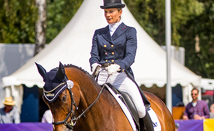 Julia Mestern Luhmühlen 2018 German Eventing