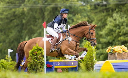 Marie Kraack 2018 German Eventing